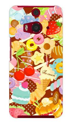 【送料無料】 Milk's Design しらくらゆりこ 「Sweet time」 / for HTC J butterfly HTL23/au 【Coverfull】【ハードケース】au htl23 htc j butterfly htl23 カバー htc j butterfly htl23 ケース htc 23 カバー htc 23 ケース 花 和柄 かわいい 迷彩 かっこいい 激安