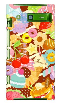 【送料無料】 Milk's Design しらくらゆりこ 「Sweet time」 / for URBANO L03/au 【Coverfull】【ハードケース】urbano l03 カバー urbano l03 ケース l03カバー l03ケース アルバーノ l03 カバー アルバーノ l03 ケース l03 カバー l03 ケース 携帯 カバー