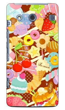 【送料無料】 Milk's Design しらくらゆりこ 「Sweet time」 / for BASIO KYV32/au 【Coverfull】【ハードケース】kyv32 カバー kyv32 ケース basio カバー basio ケース basio kyv32 カバー basio kyv32 ケース basioカバー basioケース スマホケース スマホカバー