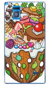 【送料無料】 おかしのやま (クリア) design by 326 / for Optimus G LGL21/au 【SECOND SKIN】【平面】【受注生産】【スマホケース】【ハードケース】Optimus G LGL21 スマホ スマートフォン スマフォ携帯カバー オプティマスg lgl21 カバー