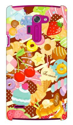 【送料無料】 Milk's Design しらくらゆりこ 「Sweet time」 / for isai FL LGL24/au 【Coverfull】【ハードケース】au isai fl lgl24 カバー isai fl lgl24 ケース lgl24 ケース lgl24 カバー lgl24ケース lgl24カバー 花 和柄 かわいい 迷彩 かっこいい 激安
