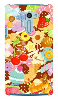 【送料無料】 Milk's Design しらくらゆりこ 「Sweet time」 / for isai VL LGV31/au 【Coverfull】【ハードケース】isai vl lgv31 カバー isai vl lgv31 ケース lgv31 カバー lgv31 ケース isai カバー isai ケース イサイ カバー イサイ ケース lgv31カバー