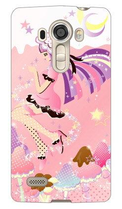 【送料無料】 Milk's Design しらくらゆりこ 「ストロベリーきのこガール」 / for isai vivid LGV32/au 【Coverfull】lgv32 ケース lgv32 カバー isai vivid lgv32 ケース isai vivid lgv32 カバー isai vivid lgv32 isai ケース isai カバー isai lgv32 ケース isai