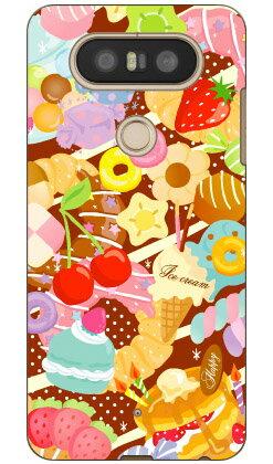 【送料無料】 Milk's Design しらくらゆりこ 「Sweet time」 / for isai Beat LGV34・V20 PRO L-01J/au・docomo 【Coverfull】isai beat lgv34 ケース isai beat lgv34 カバー lgv34ケース lgv34カバー イサイ ビート ケース イサイ ビート カバー