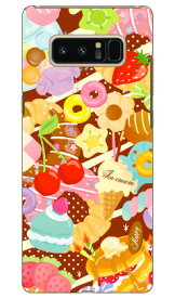 【送料無料】 Milk's Design しらくらゆりこ 「Sweet time」 / for Galaxy Note8 SCV37・SC-01K/au・docomo 【Coverfull】scv37 sc-01k カバー scv37 sc-01k ケース galaxy note 8 ケース galaxy note 8 scv37 sc-01k ケース ギャラクシーノート8 カバー