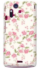 【送料無料】 SINDEE 「Polka Flower (ピンク)」 / for Xperia acro IS11S/au 【SECOND SKIN】【受注生産】【スマホケース】【ハードケース】XPERIA acro エクスペリア アクロ カバー エクスぺリア スマートフォンケース Cover カバー
