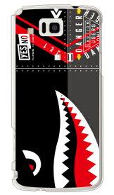 【送料無料】 シャーク ブラック (クリア) / for AQUOS PHONE IS13SH/au 【YESNO】【イエスノー】【平面】【受注生産】【スマホケース】【ハードケース】スマホケース スマホカバー アクオス フォン ケース/カバー/CASE/ケース