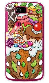 【送料無料】 おかしのやま (クリア) design by 326 / for AQUOS PHONE SL IS15SH/au 【SECOND SKIN】au is15sh カバー is15sh ケース aquos phone sl is15sh カバー aquos phone sl is15sh カバー aquos phone sl is15sh ケース アクオスフォン カバー