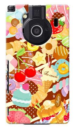 【送料無料】 Milk's Design しらくらゆりこ 「Sweet time」 / for REGZA Phone IS04/au 【Coverfull】【ハードケース】regza phone is04 au is04 ケース is04 カバー is04ケース is04カバー レグザフォン 東芝 is04 regza kddi スマホ スマホケース スマホカバー 人気