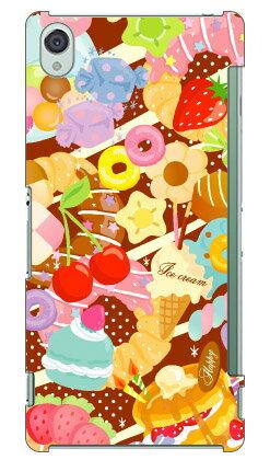 【送料無料】 Milk's Design しらくらゆりこ 「Sweet time」 / for Xperia Z3 SOL26/au 【Coverfull】au エクスペリア カバー xperia z3 sol26 ケース sol26 カバー エクスペリアz3 カバー エクスペリアz3 ケース au スマートフォン ケース エクスペリア