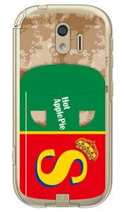 【送料無料】 アップルパイ (クリア) / for らくらくスマートフォン me F-03K/docomo 【SECOND SKIN】ドコモ らくらくスマートフォンme ケース らくらくスマートフォンme カバーf-03k ケース f-03k カバ