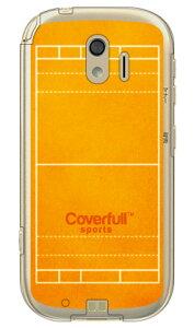 【送料無料】 水球コート オレンジ (クリア) / for らくらくスマートフォン me F-03K/docomo 【Coverfull】ドコモ らくらくスマートフォンme ケース らくらくスマートフォンme カバーf-03k ケース f-03