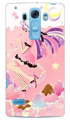 【送料無料】 Milk's Design しらくらゆりこ 「ストロベリーきのこガール」 / for Disney Mobile on docomo DM-01G/docomo 【Coverfull】ドコモ dm−01g カバー dm−01g ケース ディズニーモバイル ドコモ ケースdm−01g disney mobile on docomo dm-01g