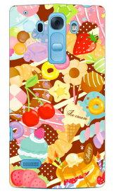 【送料無料】 Milk's Design しらくらゆりこ 「Sweet time」 / for Disney Mobile on docomo DM-01G/docomo 【Coverfull】ドコモ dm−01g カバー dm−01g ケース ディズニーモバイル ドコモ ケースdm−01g disney mobile on docomo dm-01g ディズニー ケース ディズニー