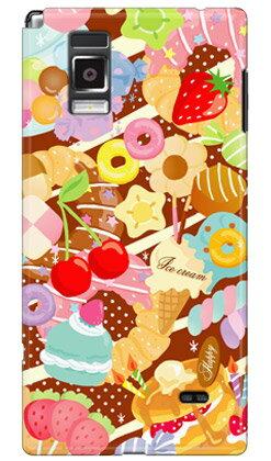 【送料無料】 Milk's Design しらくらゆりこ 「Sweet time」 / for Optimus G L-01E/docomo 【Coverfull】【全面】【スマホケース】【ハードケース】docomo Optimus G L-01E スマホ スマートフォン スマフォ携帯カバー オプティマスg