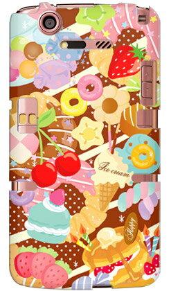 【送料無料】 Milk's Design しらくらゆりこ 「Sweet time」 / for MEDIAS X N-07D/docomo 【Coverfull】【全面】docomo MEDIAS X N-07D用ケース n07dケース ケース/カバー/CASE/ケース/アクセサリー/スマホケース/スマートフォン用カバー