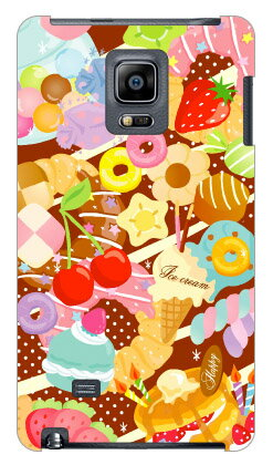 【送料無料】 Milk's Design しらくらゆりこ 「Sweet time」 / for GALAXY Note Edge SC-01G/docomo 【Coverfull】sc01g ケース sc01g カバー galaxy note edge sc-01g ケース galaxy note edge sc-01g カバー galaxy note edge ケース galaxy note edge カバー