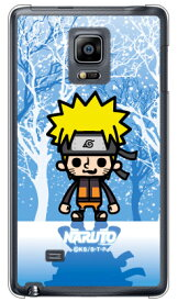 ナルト疾風伝シリーズ NARUTO×PansonWorks 冬景色 うずまきナルト (クリア) / for GALAXY Note Edge SC-01G/docomosc01g ケース sc01g カバー galaxy note edge sc-01g ケース galaxy note edge sc-01g カバー galaxy note edge