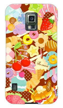 【送料無料】 Milk's Design しらくらゆりこ 「Sweet time」 / for GALAXY S5 ACTIVE SC-02G/docomo 【Coverfull】ドコモ galaxy s5 sc-02g ケース sc-02g カバー ギャラクシーs5 ケース ギャラクシーs5 カバー galaxy s5 サムスン ケース ギャラクシーs5 カバー