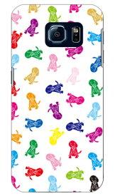 【送料無料】 Dogs ホワイト design by REVOLUTION OF THE MIND / for Galaxy S6 SC-05G/docomo 【SECOND SKIN】sc-05g ケース sc-05g カバー sc-05gケース sc-05g カバー galaxy s6 ケース galaxy s6 カバー ギャラクシーs6 ケース ギャラクシーs6 カバー ドコモ