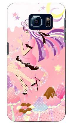 【送料無料】 Milk's Design しらくらゆりこ 「ストロベリーきのこガール」 / for Galaxy S6 SC-05G/docomo 【Coverfull】sc-05g ケース sc-05g カバー sc-05gケース sc-05g カバー galaxy s6 ケース galaxy s6 カバー ギャラクシーs6 ケース ギャラクシーs6