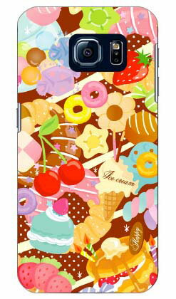 【送料無料】 Milk's Design しらくらゆりこ 「Sweet time」 / for Galaxy S6 SC-05G/docomo 【Coverfull】sc-05g ケース sc-05g カバー sc-05gケース sc-05g カバー galaxy s6 ケース galaxy s6 カバー ギャラクシーs6 ケース ギャラクシーs6 カバー ドコモ