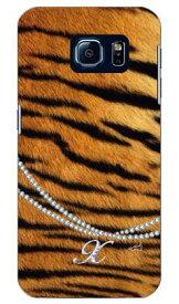 【送料無料】 トラ柄イニシャル-X design by ARTWORK / for Galaxy S6 SC-05G/docomo 【Coverfull】【ハードケース】sc-05g ケース sc-05g カバー sc-05gケース sc-05g カバー galaxy s6 ケース galaxy s6 カバー ギャラクシーs6 ケース ギャラクシーs6 カバー ドコモ