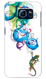 【送料無料】 Mie 「トカゲ Water surface」 / for Galaxy S6 SC-05G/docomo 【SECOND SKIN】【ハードケース】sc-05g ケース sc-05g カバー sc-05gケース sc-05g カバー galaxy s6 ケース galaxy s6 カバー ギャラクシーs6 ケース ギャラクシーs6 カバー ドコモ