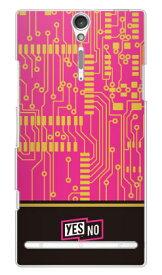 【送料無料】 エレクトロボード ピンク (クリア) / for Xperia NX SO-02D/docomo 【YESNO】【平面】【受注生産】【スマホケース】【ハードケース】ドコモ so-02d ケースso-02d カバー so02dケース so02dカバー xperia nx so-02d ケース エクスペリア nx