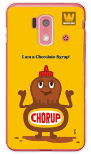 【送料無料】 chocolate syrup (クリア) design by PansonWorks / for スマートフォン for ジュニア2 SH-03F/docomo 【SECOND SKIN】ドコモ sh-03f カバー sh-03f ケース ジュニア2 sh-03f カバー ジュニア2 sh-03f ケース