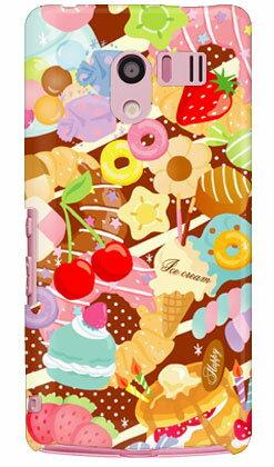 【送料無料】 Milk's Design しらくらゆりこ 「Sweet time」 / for AQUOS PHONE EX SH-04E/docomo 【Coverfull】【全面】aquos phone ex sh-04e カバー スマホケース スマホカバー アクオス フォン sh04e ケース/カバー/CASE/ケース