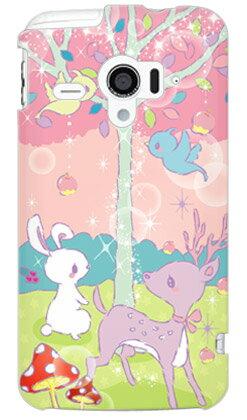【送料無料】 Milk's Design しらくらゆりこ 「メルヘンな森 」 / for AQUOS PHONE ZETA SH-06E/docomo 【Coverfull】sh-06e ケース/sh-06e カバー/aquos phone sh-06e/アクオスフォン zeta ケース/アクオスフォン zeta カバー/アクオスフォン ex