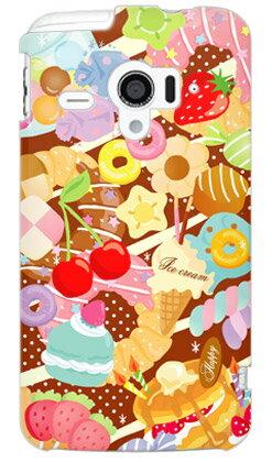 【送料無料】 Milk's Design しらくらゆりこ 「Sweet time」 / for AQUOS PHONE ZETA SH-06E/docomo 【Coverfull】sh-06e ケース/sh-06e カバー/aquos phone sh-06e/アクオスフォン zeta ケース/アクオスフォン zeta カバー/アクオスフォン ex