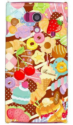 【送料無料】 Milk's Design しらくらゆりこ 「Sweet time」 / for AQUOS PHONE si SH-01E/docomo 【Coverfull】sh-01e カバー sh-01e ケース sh-01eカバー sh-01eケース aquos phone si sh-01e カバー アクオスフォン カバー sh01e