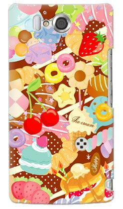 【送料無料】 Milk's Design しらくらゆりこ 「Sweet time」 / for AQUOS PHONE ZETA SH-09D/docomo 【Coverfull】ドコモ sh09d カバー sh09d ケース アクオスフォン カバー sh09d アクオスフォン ケース sh09d aquos phone zeta カバー sh09d aquos phone zeta