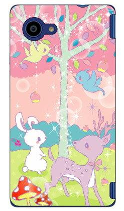 【送料無料】 Milk's Design しらくらゆりこ 「メルヘンな森」 / for Disney Mobile on docomo DM-01H/docomo 【Coverfull】dm−01h ケース dm−01h カバー dm01h ケース dm01h カバー dm 01h ケース dm 01h カバー ディズニー モバイル