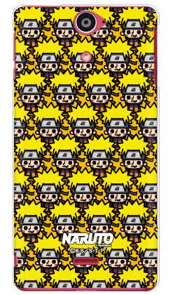 ナルト疾風伝シリーズ NARUTO×PansonWorks いっぱい うずまきナルト (クリア) / for Xperia AX SO-01E/docomo 【スマホケース】【ハードケース】xperia ax カバー エクスぺリアax スマホケースエクスぺリアax カバー カスタムケース