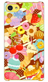【送料無料】 Milk's Design しらくらゆりこ 「Sweet time」 / for Xperia Z5 Compact SO-02H/docomo 【Coverfull】so−02h ケース so−02h カバー so02h ケース so02h カバー so02hケース so02hカバー z5 コンパクト ケース z5 コンパクト カバー xperia z5 compact