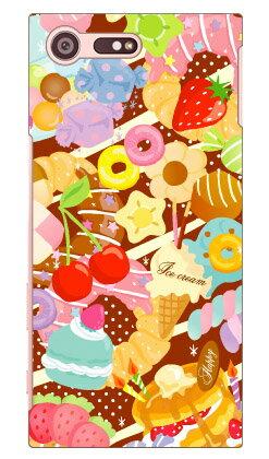 【送料無料】 Milk's Design しらくらゆりこ 「Sweet time」 / for Xperia X Compact SO-02J/docomo 【Coverfull】xperia x compact ケース xperia x compact カバー エクペリアx コンパクト ケース エクペリアx コンパクト カバー so-02j ケース so-02j カバー