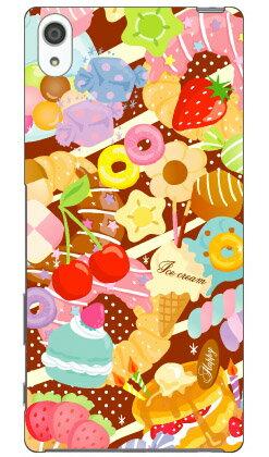 【送料無料】 Milk's Design しらくらゆりこ 「Sweet time」 / for Xperia Z5 Premium SO-03H/docomo 【Coverfull】xperia z5 premium ケース xperia z5 premium カバー z5 premium ケース z5 premium カバー z5 プレミアム ケース z5 プレミアム カバー