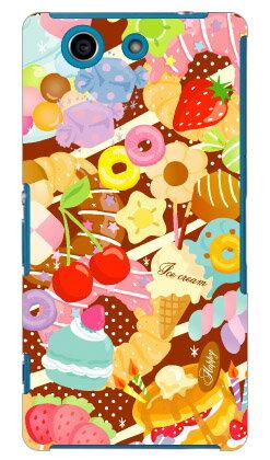 【送料無料】 Milk's Design しらくらゆりこ 「Sweet time」 / for Xperia A4 SO-04G/docomo 【Coverfull】so-04g ケース so-04g カバー so04g ケース so04g カバー xperia a so-04g ケース xperia a so-04g カバー エクスペリア a4 ケース エクスペリア a4