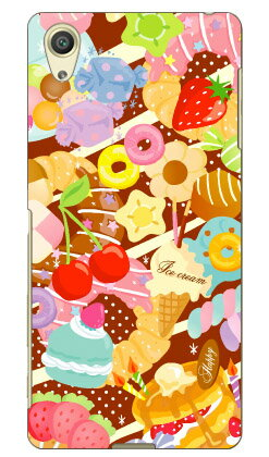 【送料無料】 Milk's Design しらくらゆりこ 「Sweet time」 / for Xperia X Performance SO-04H・SOV33・502SO/docomo・au・SoftBank 【Coverfull】xperia x performance so-04h ケース so-04h カバー sov33 ケース sov33 カバー 502so ケース 502so カバー
