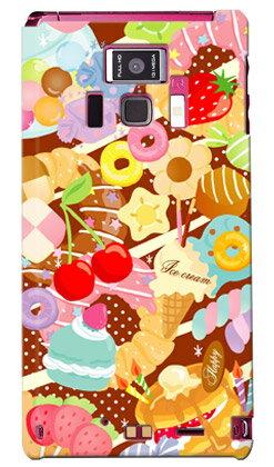 【送料無料】 Milk's Design しらくらゆりこ 「Sweet time」 / for REGZA Phone T-01D/docomo 【Coverfull】regza phone t-01d ケース regza phone t-01d カバー t01dケース t01dカバー t 01d ケース t 01d カバー t-01d regza ケース t-01d regza カバー
