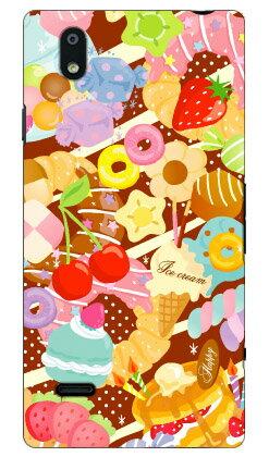【送料無料】 Milk's Design しらくらゆりこ 「Sweet time」 / for MONO MO-01J/docomo 【Coverfull】【ハードケース】mono mo-01j ケース mono mo-01j カバー mo01j ケース mo01j カバー モノケース モノカバー mo 01j ケース mo 01j カバー スマホケース スマホカバー