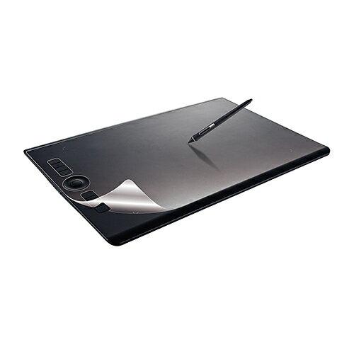ELECOM(エレコム) ペーパーライクフィルム(反射防止) TB-WIPLFLAPLlarge 保護フィルム ペーパーライク 反射防止 ワコム ペンタブレット 指紋防止 保護フィルム エアーレスタイプ 3H ハードコート加工 シリコン皮膜 自己吸着 貼り直し カット済み クリーニングクロス