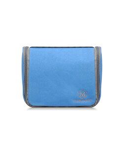 スキンケアバッグLush Skin Care Bag ブルー MONO-LUSH-SKIN-BLUE化粧ポーチ 旅行用品 トラベルポーチ トラベルセット スキンケア ポーチ バッグ ポーチ 小物入れ 化粧ポーチ かわいい 旅行 便利グッズ