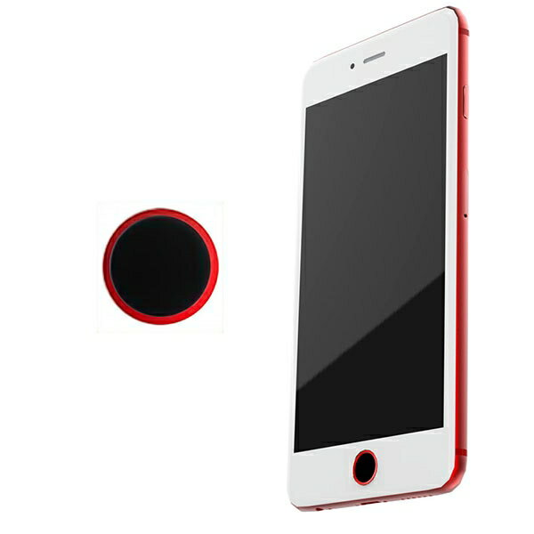 M's Select. iFinger Button 指紋認証対応 ホームボタンシール ネイビー iPhone7 iPhone7 Plus 対応