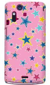 【送料無料】 スターver1 ピンク produced by COLOR STAGE / for Xperia acro IS11S/au 【Coverfull】【カバフル】【全面】【受注生産】【スマホケース】【ハードケース】XPERIA acro エクスペリア アクロ カバー エクスぺリア スマートフォンケース Cover カバー