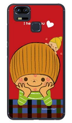 【送料無料】 だいすき (クリア) design by Ringo / for ZenFone Zoom S ZE553KL/MVNOスマホ(SIMフリー端末) 【Coverfull】zenfone 3 zoom ケース zenfone 3 zoom カバー ze553kl ケース ze553kl カバー ゼンフォン3ズーム ケース ゼンフォン3ズーム