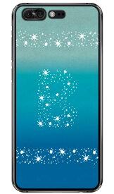 【送料無料】 Cf LTD アロハ イニシャル オーシャン B (クリア) / for ZenFone 4 Pro ZS551KL/MVNOスマホ(SIMフリー端末) 【Coverfull】zenfone 4 pro ケース zenfone 4 pro カバー zs551kl ケース zs551kl カバー ゼンフォン4プロ ケース